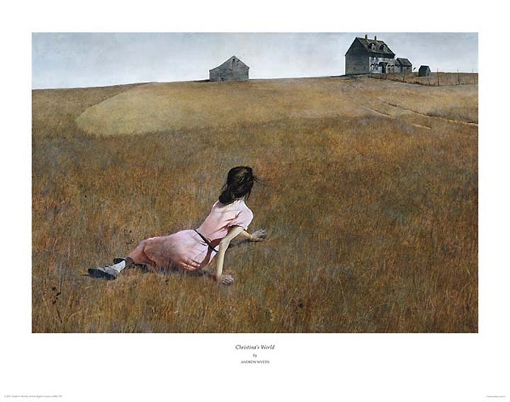 Christina S World By Andrew Wyeth